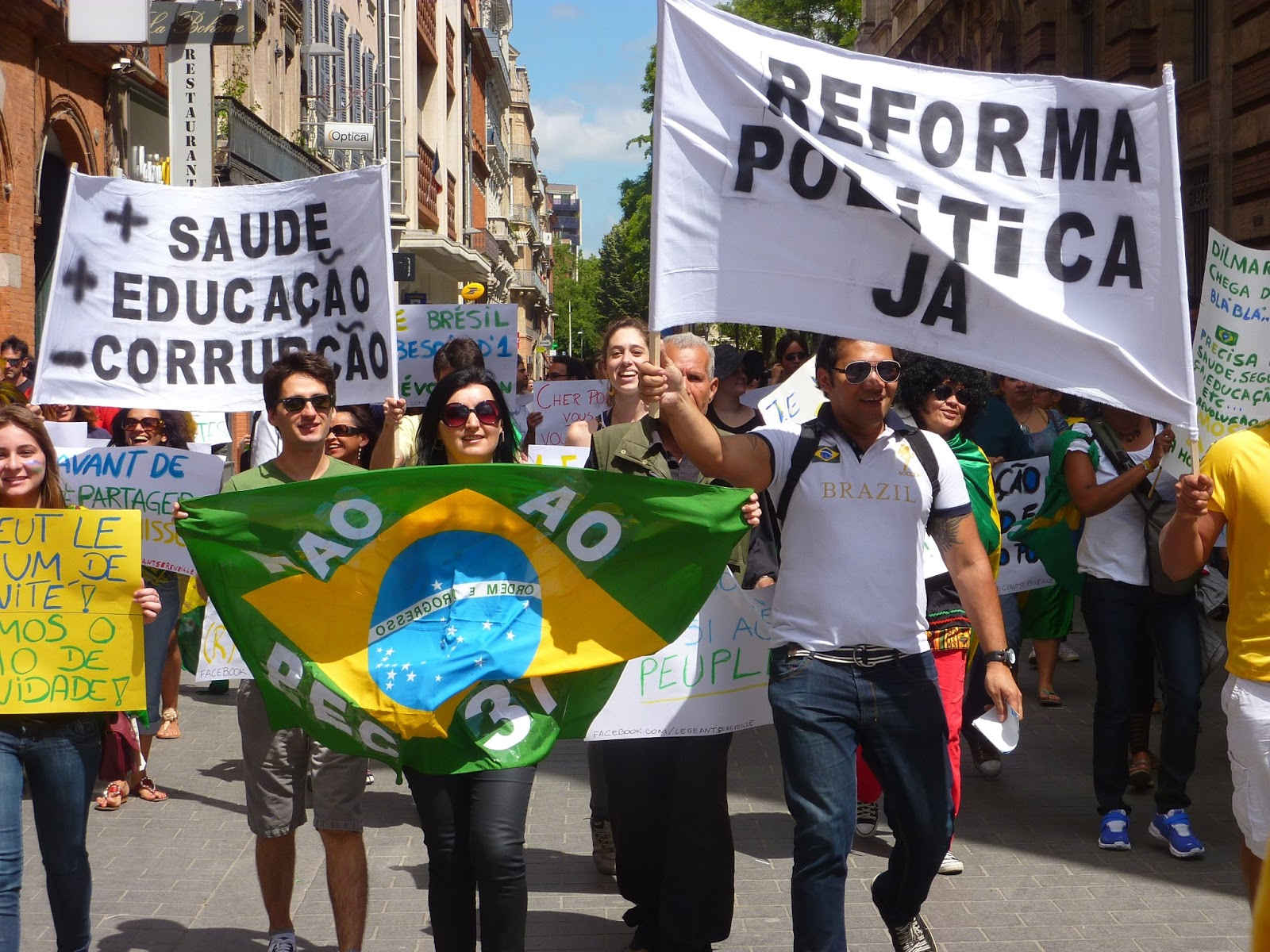 contemporary brazil essay Sample essay & discussion questions on developing politics & terrorism click each book title for essay what are the political shortcomings of modern brazil.